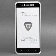 Защитное стекло для Xiaomi Redmi Note 5A (полное покрытие)(черное...