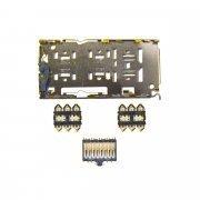 Коннектор SIM+MMC для Samsung Galaxy A50 (A505F)